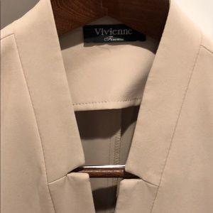 Jackets & Coats - Fitted Long Fashion Blazer